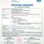 EI15 Door -  PONZIO NT 78EI