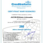 Creditworthiness Certificate